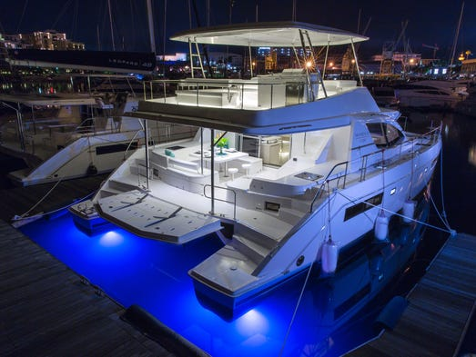 The Leopard 51 is not short of impressive features,