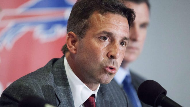 A file photo of Russ Brandon, president and CEO of the Buffalo Bills.