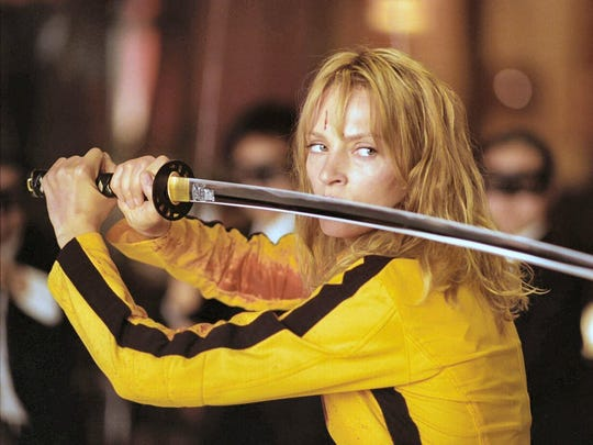 "See ""Kill Bill: Vol 1"" on the big screen during Movies"