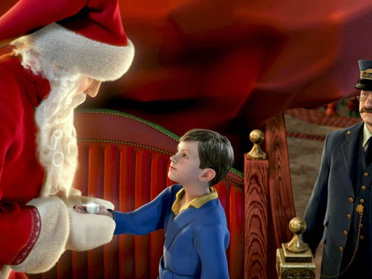 "A scene from the computer-animated motion picture ""The Polar Express."""