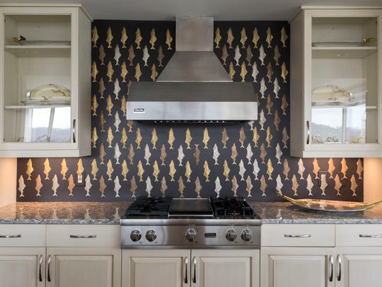 Law's Interiors and Design designed the kitchen in