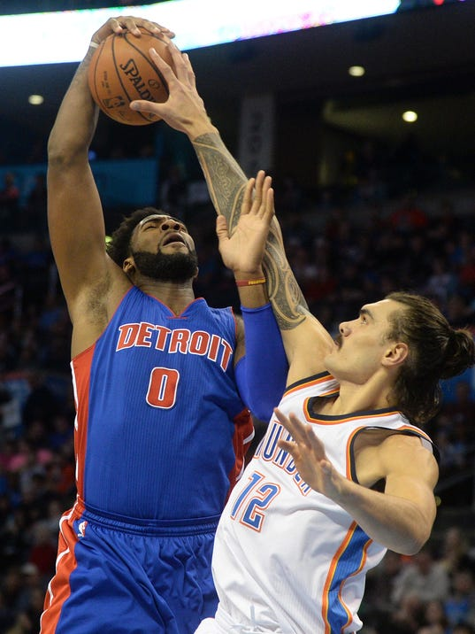 NBA: Detroit Pistons at Oklahoma City Thunder