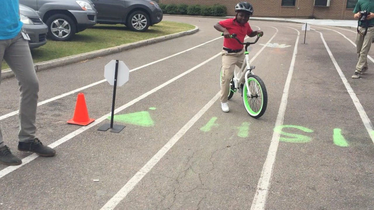 When a teacher realized many students in her school had never owned a bike before, she raised more than $80,000 to give each student a bike.