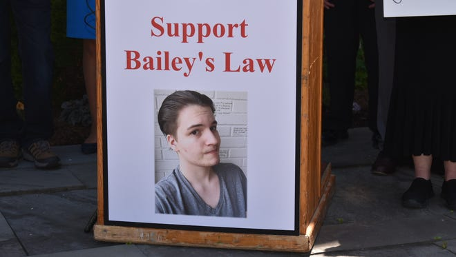 Bailey Bates, an autistic teen, died at age 19.