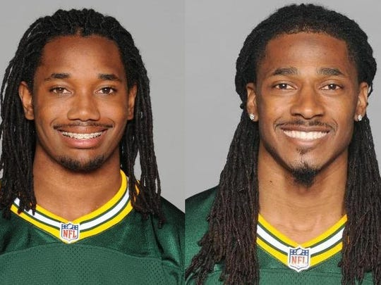 Green Bay Packers defensive backs Davon House (left) and Tramon Williams have donated 1,500 turkeys to Paul's Pantry for families in need.
