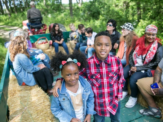 Hayride at the Elegant Farmer