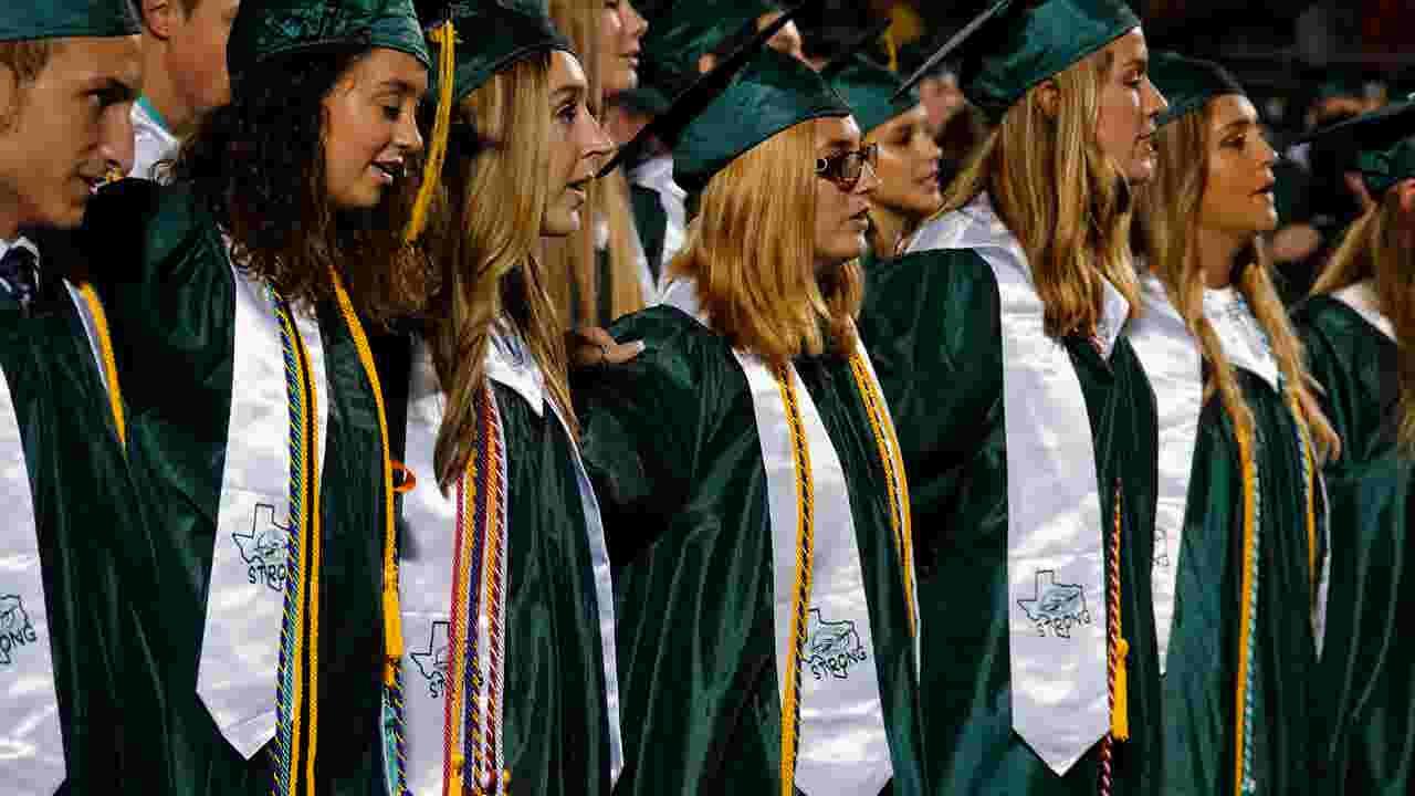 santa fe high school senior class graduation grief and celebration