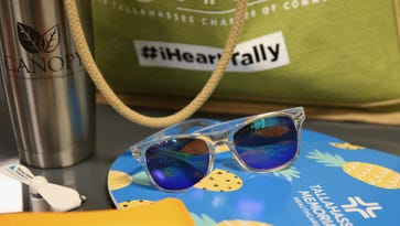 Swag bags a hit during Chamber conference