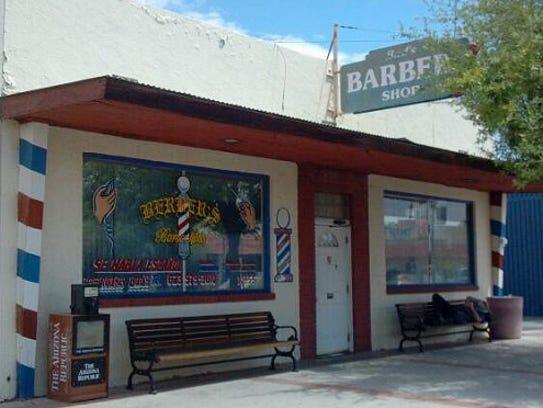 Lazy J. Cafe/Bud's Barber Shop