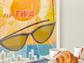 David Klein's Fly TWA Florida and breakfast served
