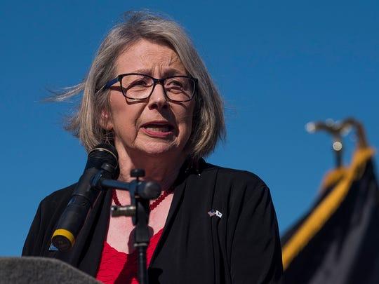 Linda Boyle, of the Central Alabama Veterans Health