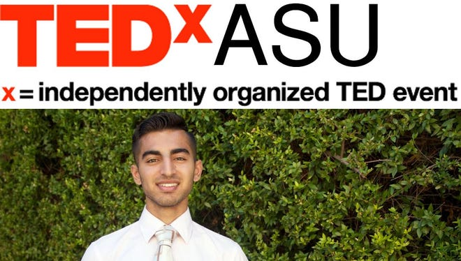 ASU senior Ammar Tanveer is organizing the first TEDx event to come to ASU's Tempe campus.