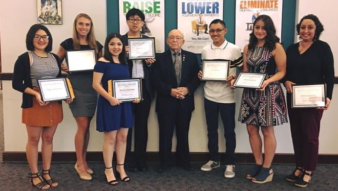 Eight students were selected by the Teacher's Credit Union to receive $1,000 scholarships in support of higher education.