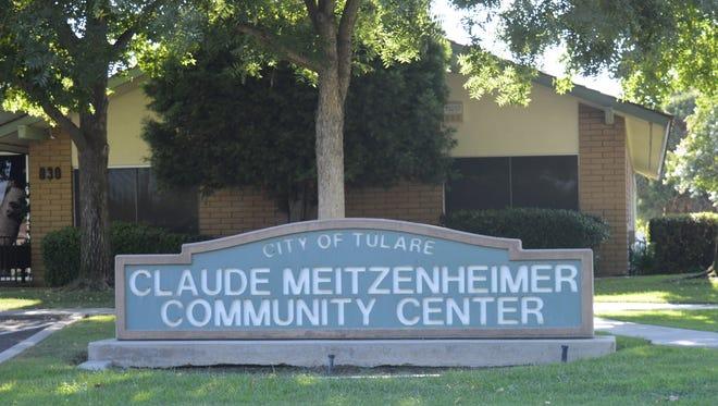 The Claude Meitzenheimer Community Center, 830 S. Blackstone St., Tulare.