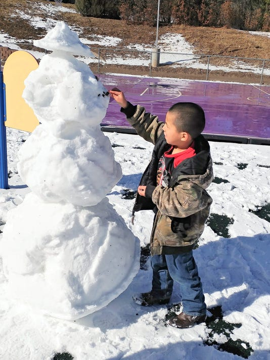smokey bear snowman?