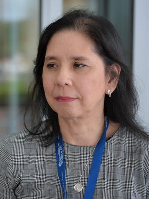 Margaret Bengzon, chief executive officer of Guam Regional Medical City, is photographed at GRMC on Dec. 1, 2016. According to Guam Department of Public Health and Social Services, GovGuam will no longer pay for the approximately 50,000 Medicare and MIP beneficiaries on Guam to receive treatment at GRMC, other than for emergencies.  Bengzon stated that GRMC's committment to the people of Guam remains, and services for Medicare and MIP beneficiaries will continue.