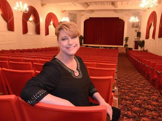 Christina Zayti, owner of Northville's Marquis Theatre,