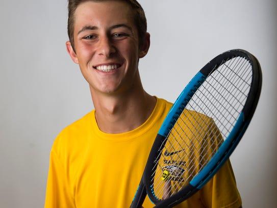 Naples tennis player Michael Moll.