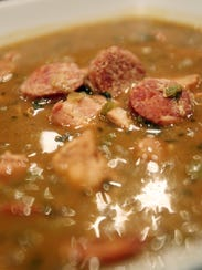 Seasoning is the key to the chicken and sausage gumbo