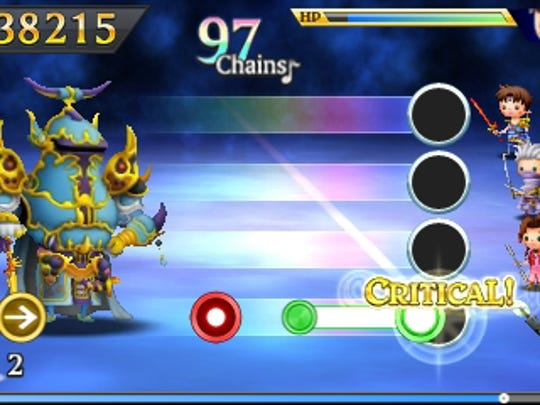 """Form a party of characters to play out battle music in """"Theatrhythm Final Fantasy: Curtain Call."""""""