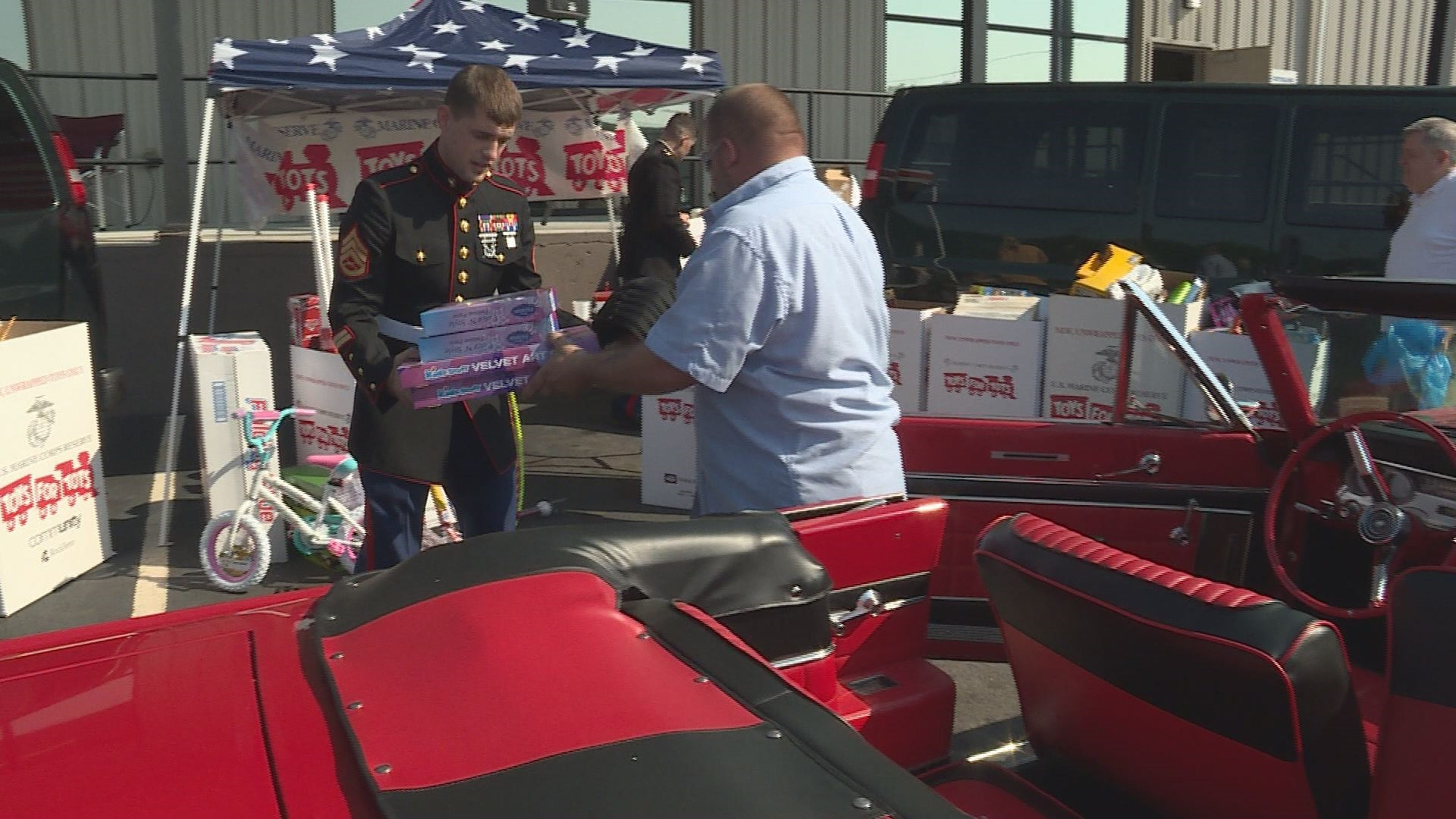 Toys For Tots Cruise In Car Show