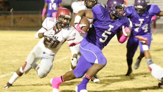 Cordarrian Richardson, who led Trezevant to back-to-back state titles in 2015 and 2016, is leaving UCF and transferring to Texas A&M.