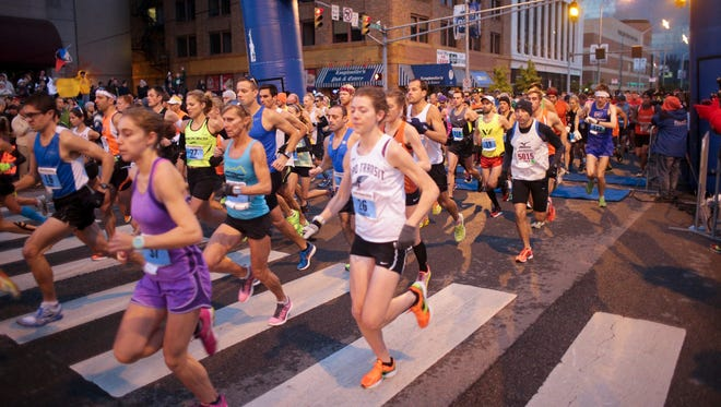 Moving the Indianapolis Women's Half Marathon will give runners more opportunity to prepare for other fall races like the Indianapolis Monumental Marathon, seen here.