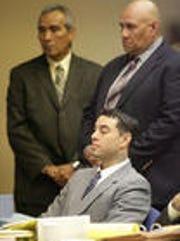 David Marmolejo in an El Paso court in 2010.