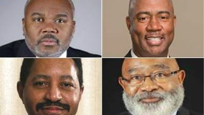 From left to right, top to bottom: Quinton T. Ross Jr., Robert C. Mock Jr., Tony Atwater, Willie D. Larkin