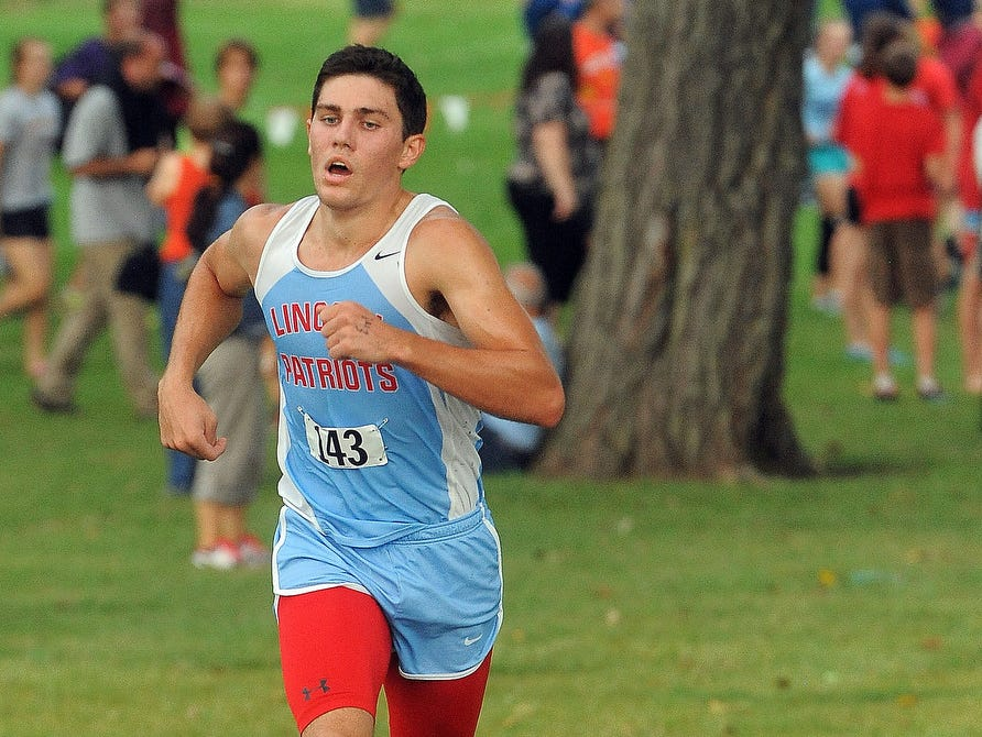 Lincoln's Gabe Peters finished second at last year's state championship meet.