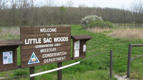 Little Sac Woods Conservation Area in Greene County is an example of a Missouri Department of Conservation Area that's known for its hunting, but also has a clearly marked network of trails.