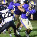 Fowlerville sophomore quarterback Nick Semke rushed for 47 yards for the Glads, who lost their season finale to Lansing Waverly 30-14 on Friday night at Fowlerville High School.