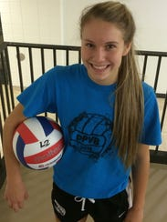 De Pere senior Hailey Newton is a first-team all-conference