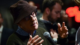 Director Woody Allen at the Museum of Modern Art on Nov. 14, 2017, in New York.