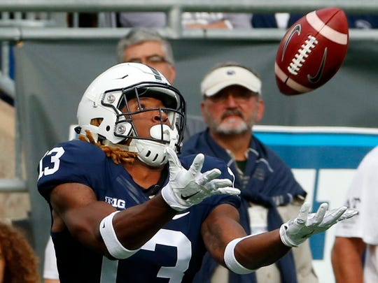 Is this the beginning of the breakout season for ultra-talented Saeed Blacknall? It may be now or never, starting with Saturday's Blue-White Game.