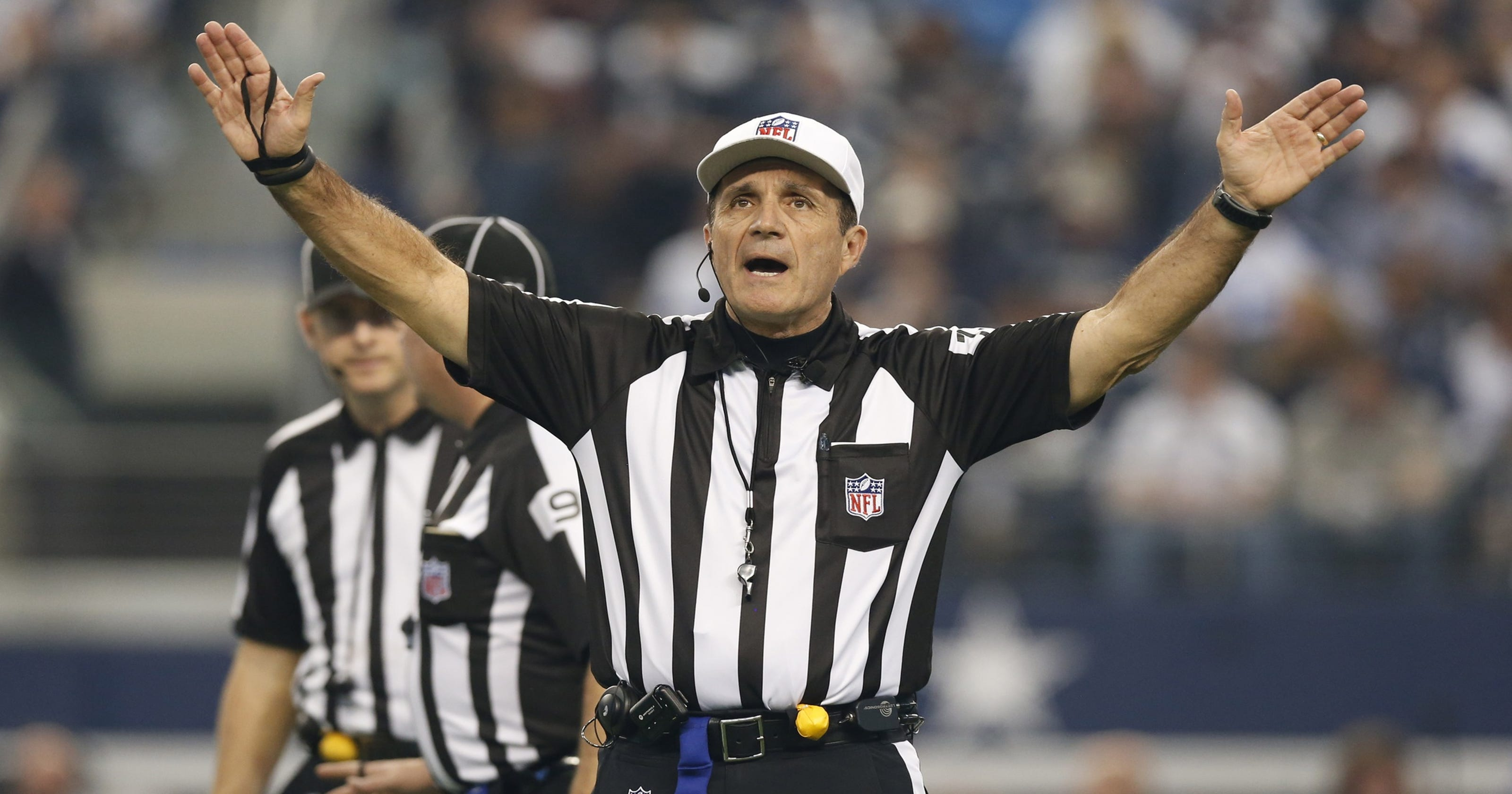 Nfl Moves Referee Crew Off Colts Steelers Game