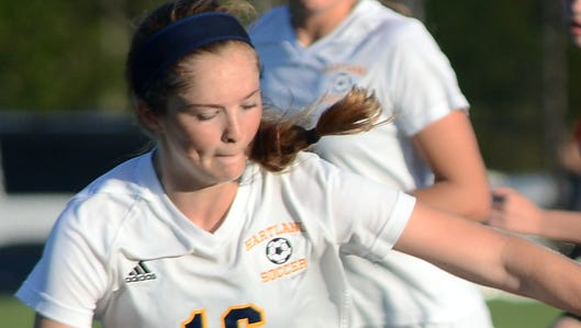 Allison Parker and her Hartland teammates scored a 4-1 victory over Holt in their district opener against on Tuesday.