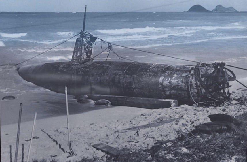 Japanese midget submarine pearl harbor