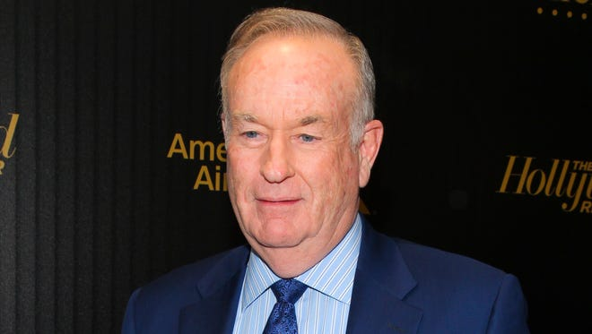 """In this April 6, 2016, file photo, Bill O'Reilly attends The Hollywood Reporter's """"35 Most Powerful People in Media"""" celebration in New York."""