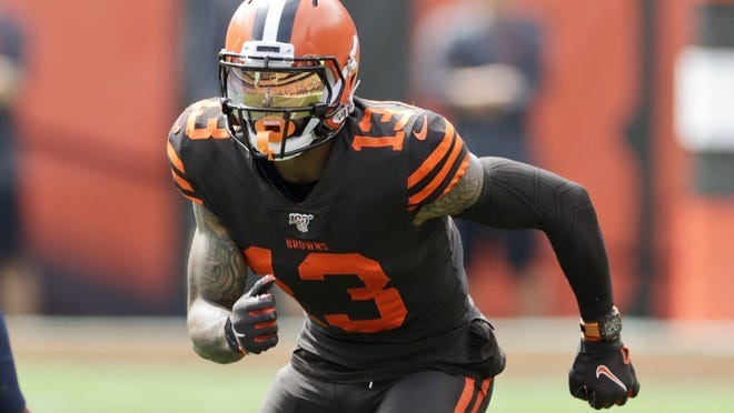 Browns wide receiver Odell Beckham Jr., a three-time Pro Bowler, had surgery in the offseason.