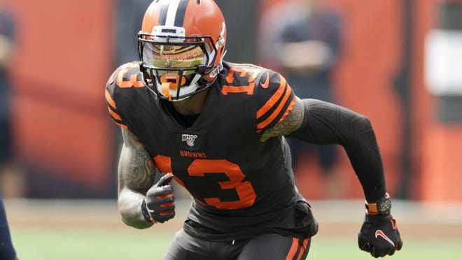 Cleveland Browns wide receiver Odell Beckham Jr. ranked No. 59 on NFL Network's Top 100 list.