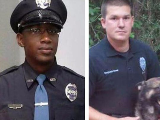 Officers Liquori Tate and Benjamin Deen
