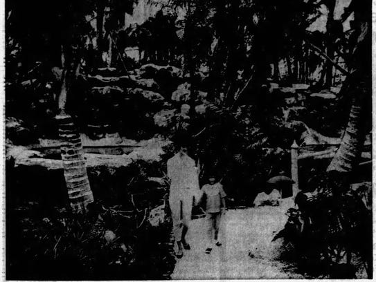 A Fort Myers News-Press photo of Cape Coral Gardens