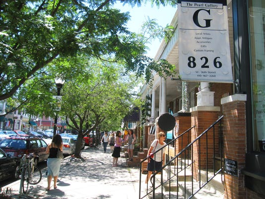 West 36th Street in Baltimore will be the hub of the Hampdenfest music and arts festival Sept. 19.