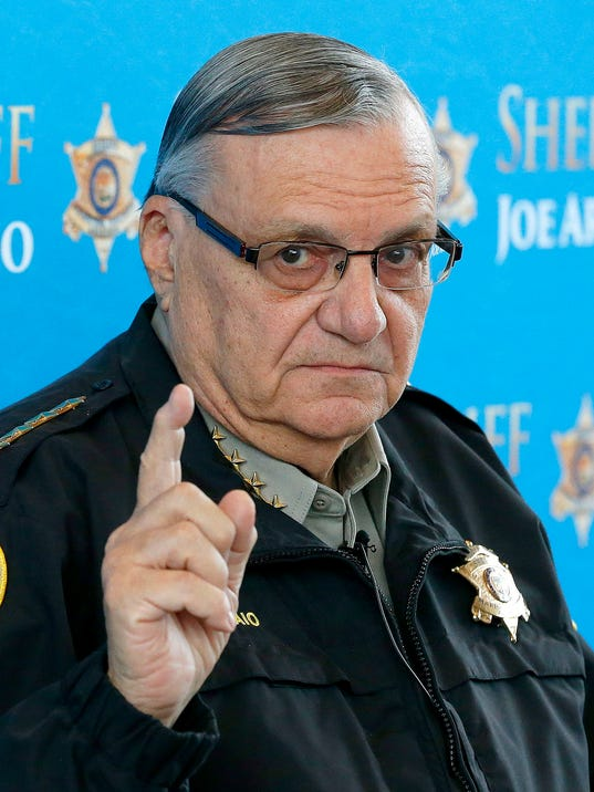 AP Arizona Sheriff-Lawsuits