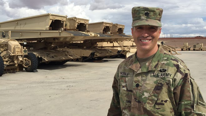 Lt. Col. David Noble is the new commander of the 40th Engineer Battalion with 2nd Armored Brigade Combat Team.