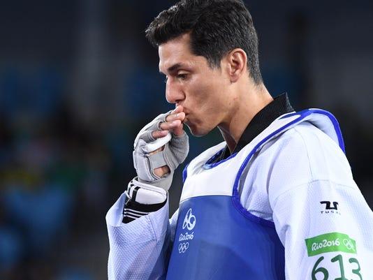 USP OLYMPICS: TAEKWONDO S OLY BRA