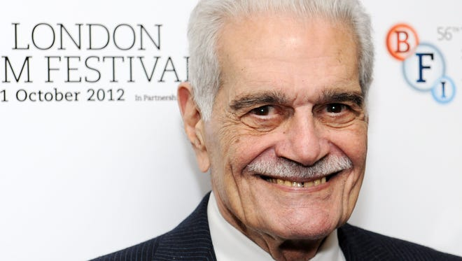 "Omar Sharif attends the ""Lawrence Of Arabia"" Restoration Screening as part of the 56th London BFI Film Festival at BFI Southbank on October 20, 2012 in London, England."