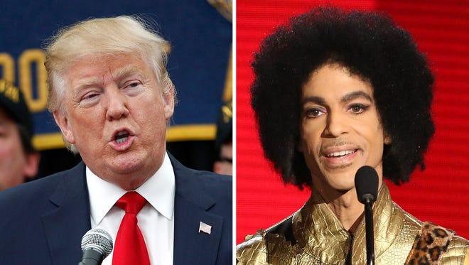 Donald Trump and Prince