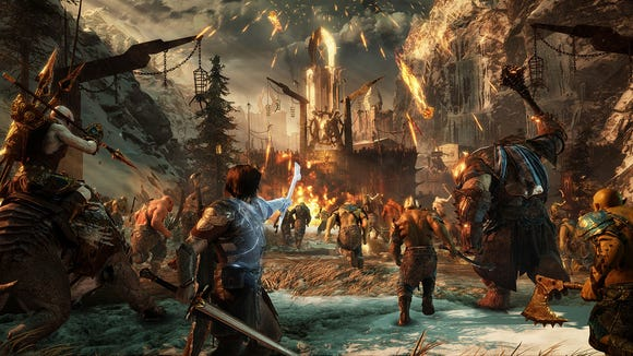 A scene from 'Middle-earth: Shadow of War.'